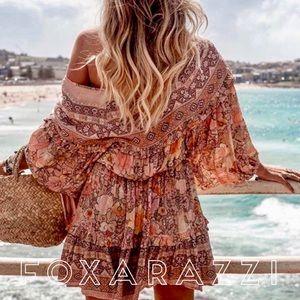Dresses - Foxy 🌸Amethyst Floral Gypsy Playdress in Blush
